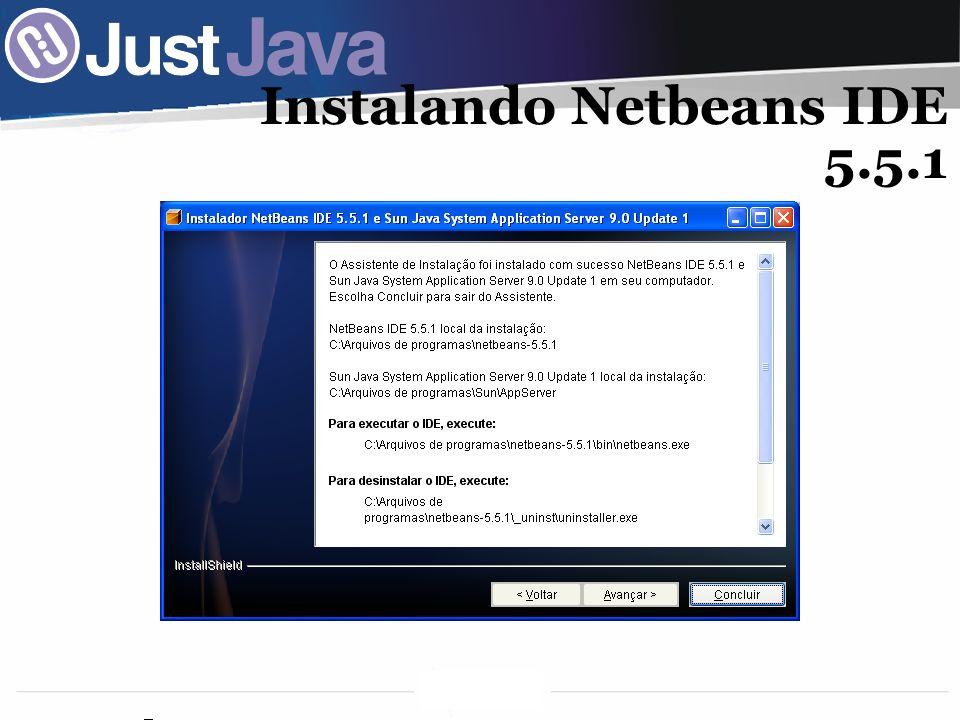 30 Instalando Netbeans IDE 5.5.1