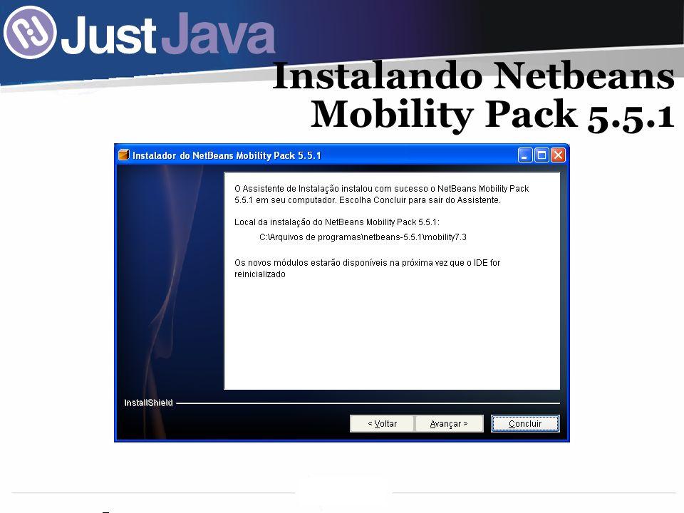31 Instalando Netbeans Mobility Pack 5.5.1