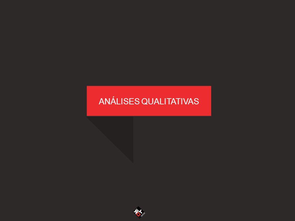 ANÁLISES QUALITATIVAS