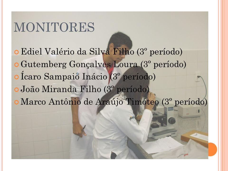 RESULTADOS ALCANÇADOS (Monitores) Aprimoramento do conhecimento; Incentivo à atividade de docência; Maior integração com docentes e discentes.