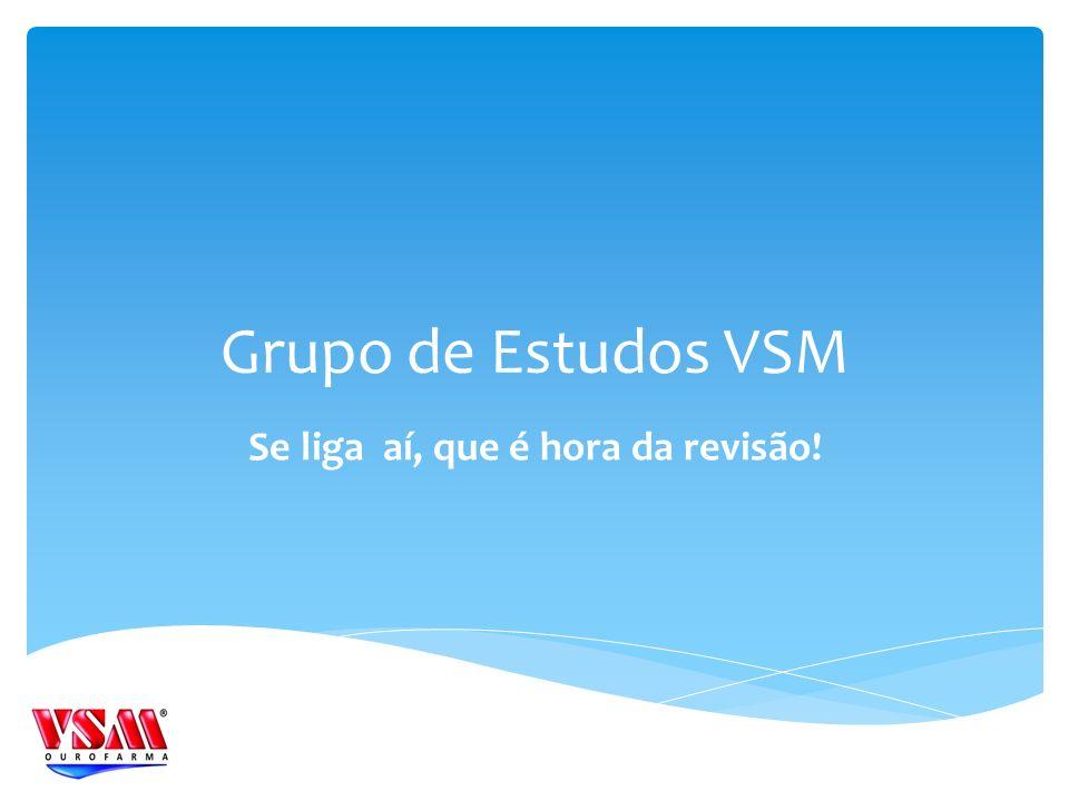Grupo de Estudos VSM Se liga aí, que é hora da revisão!