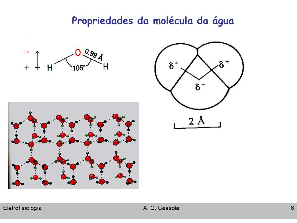 8/5/2014Fisiologia de membranas - Potencial de repouso 37 Potencial de Repouso: Correntes por canais e pela bomba de Na-K ATP 3Na + 2K + ADP+P i Cl - K+K+ Na +