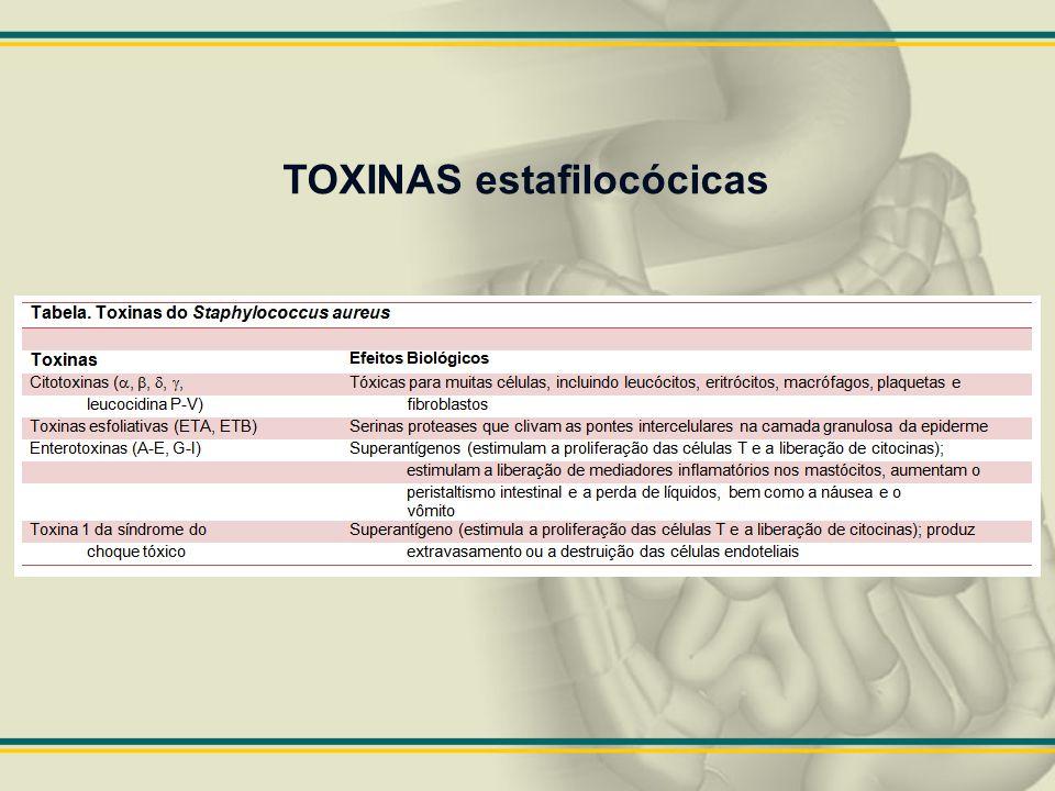 TOXINAS estafilocócicas