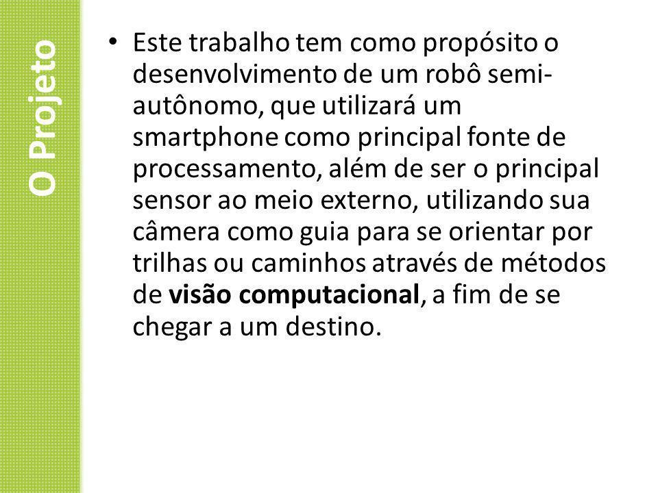 Visão Computacional Conjunto de técnicas e métodos que permitem que um sistema consiga interpretar imagens.