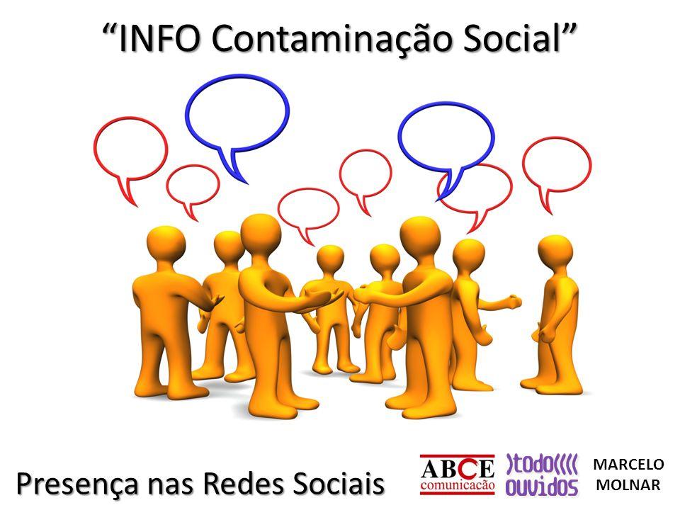 INFO Contaminação Social Presença nas Redes Sociais MARCELO MOLNAR