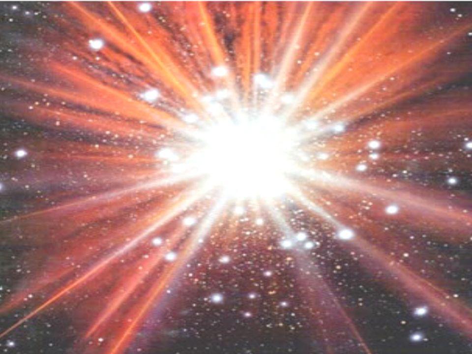 Próton Nêutron Plasma de quarks e elétrons livres Núcleo Órbitas eletrônicas T = 0sT = 0,001s (1 milissegundo) T = 100sT = 300 mil anos Primeiros átomos A era das formações atômicas durou cerca de 1 milhão de anos ENERGIAMATÉRIA