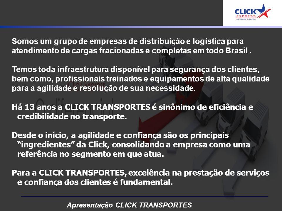 Somos um grupo de empresas de distribuição e logística para atendimento de cargas fracionadas e completas em todo Brasil.