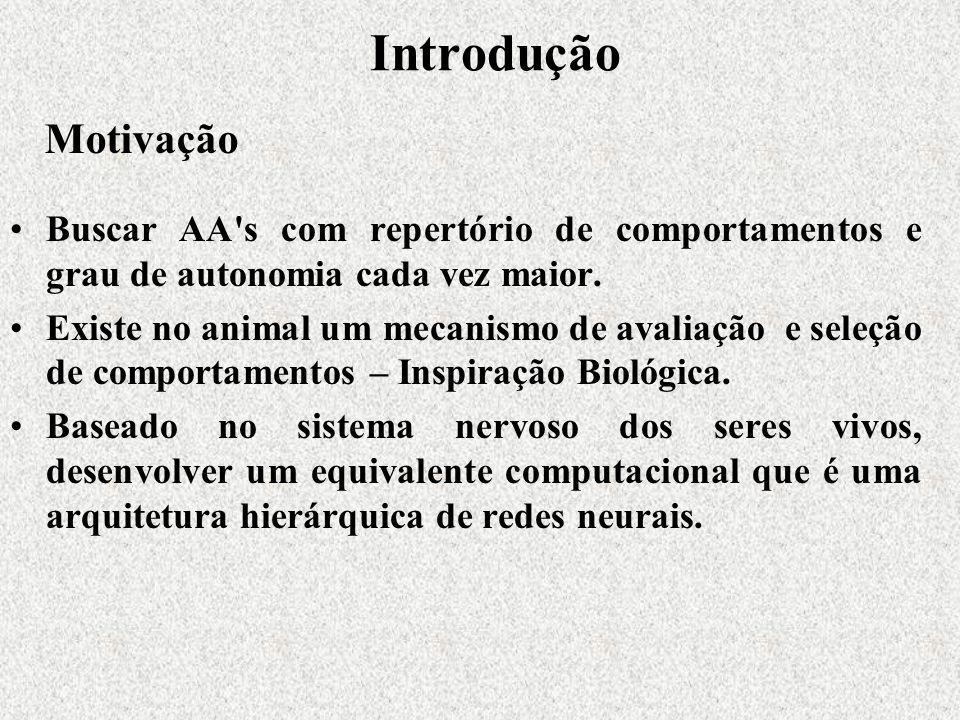 Introdução Buscar AA s com repertório de comportamentos e grau de autonomia cada vez maior.