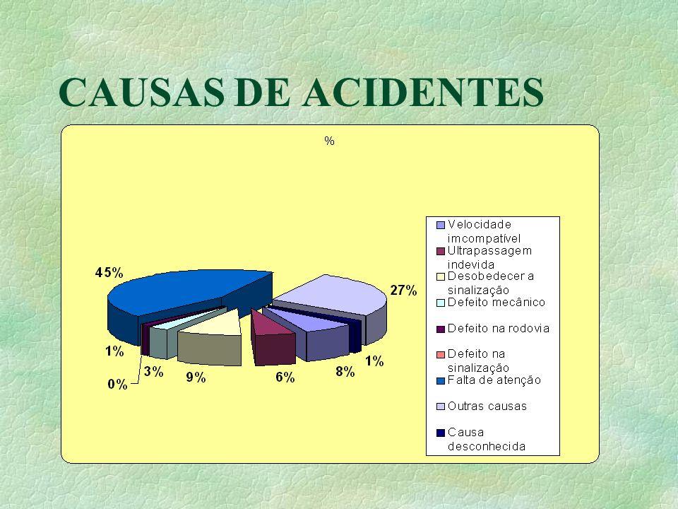 CAUSAS DE ACIDENTES