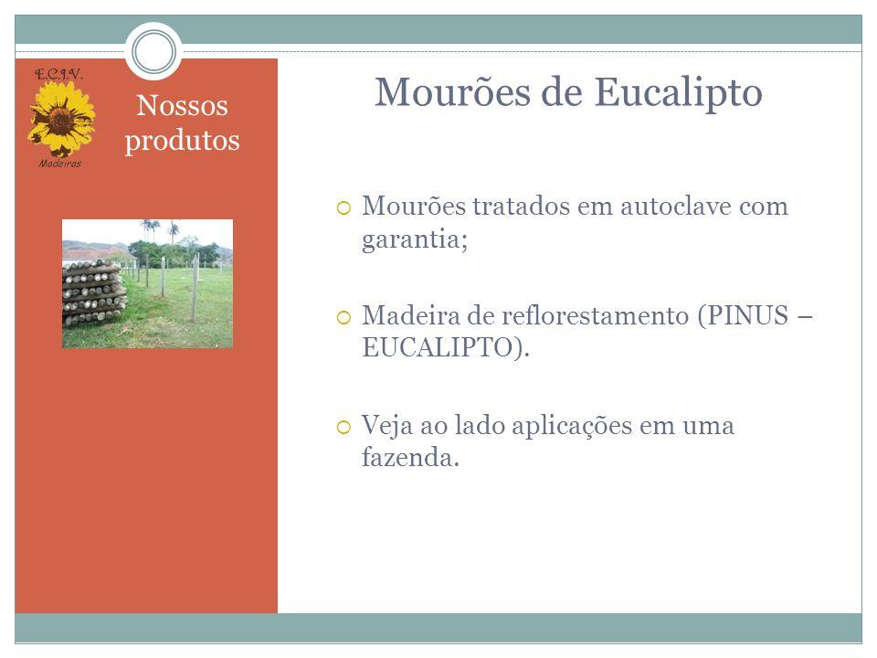 Exemplos de uso de nossos produtos Nossos produtos podem ser usados para diversos fins como por exemplo: Montagem de quiosques.