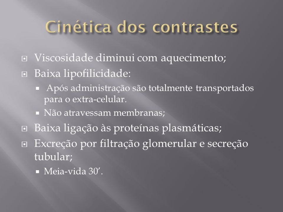 Características: Inicia-se 24-72h após exposição; Raramente manifesta-se com oligúria; Urinálise demonstra grande quantidade de células epiteliais e cristais (Não recomendado de rotina);