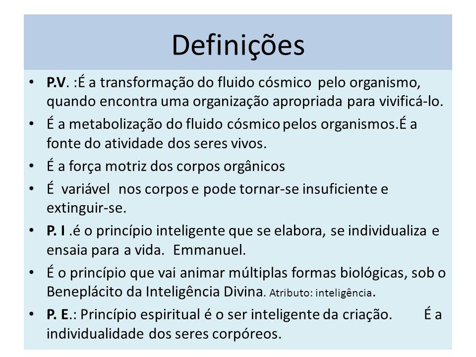 Definições P.V.