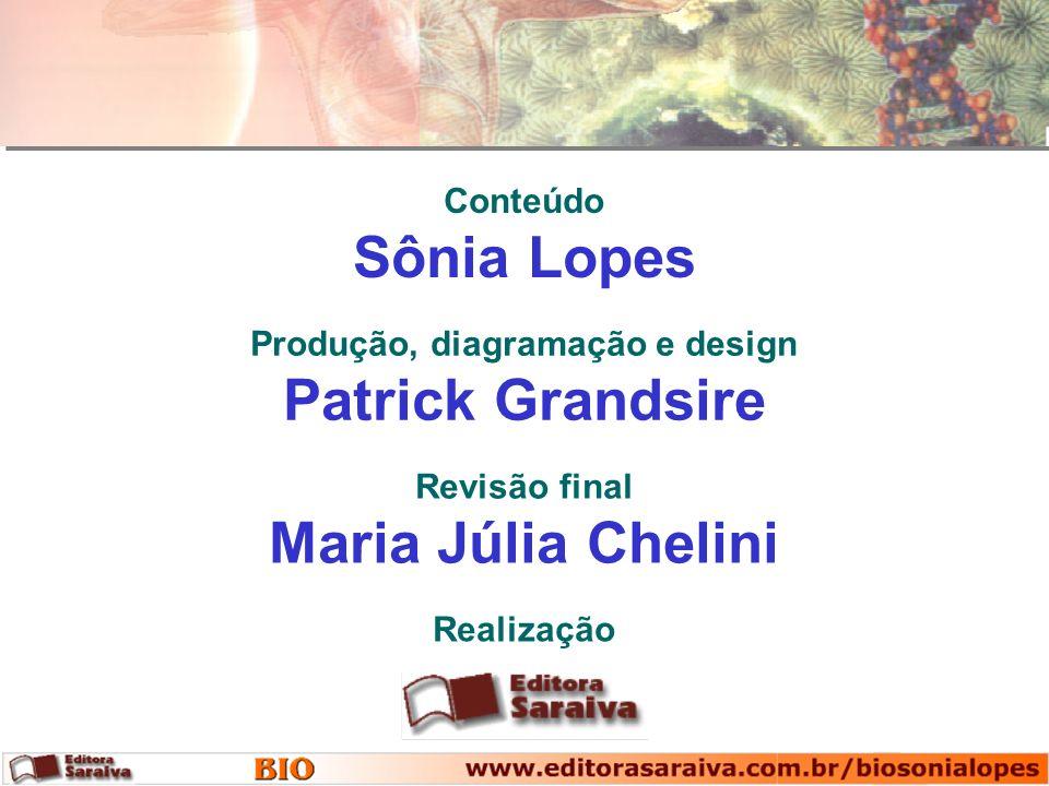 Conteúdo Sônia Lopes Realização Produção, diagramação e design Patrick Grandsire Revisão final Maria Júlia Chelini