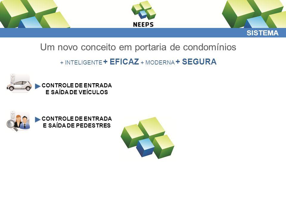 COMODATO Recursos disponíveis com o Sistema NEEPS + INTELIGENTE + EFICAZ + MODERNA + SEGURA PORTARIA MORADOR TREINAMENTOS SERVIDOR