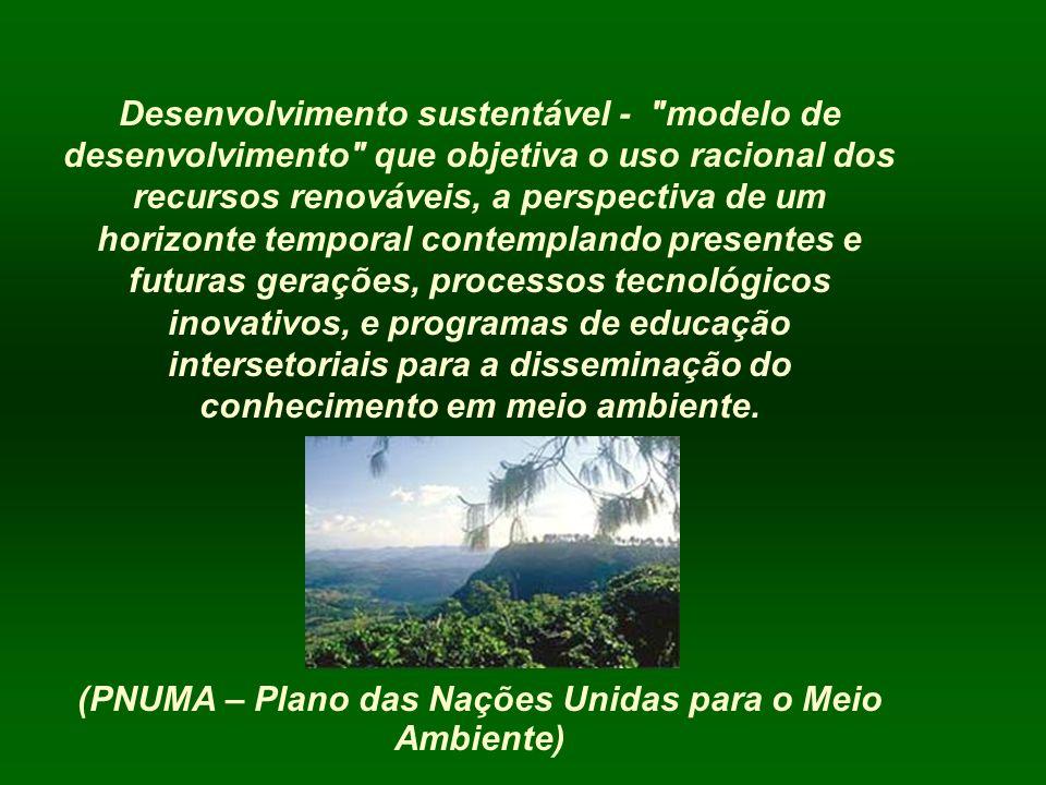 Desenvolvimento sustentável -