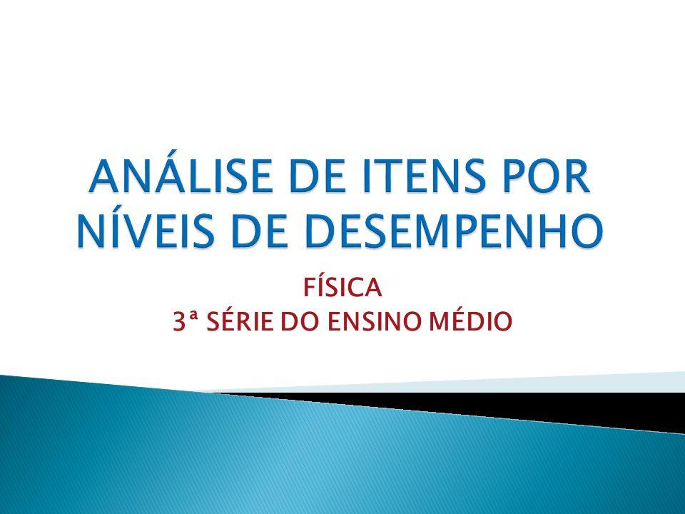 FÍSICA 3ª SÉRIE DO ENSINO MÉDIO
