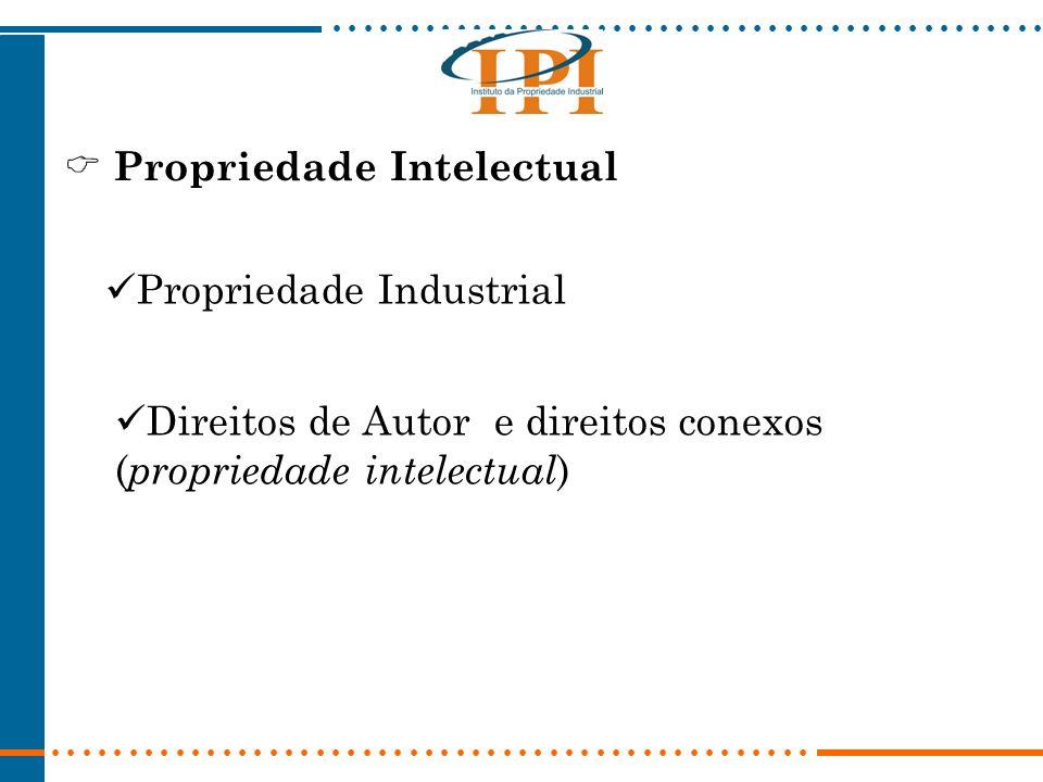 Propriedade Intelectual Propriedade Industrial Direitos de Autor e direitos conexos ( propriedade intelectual )