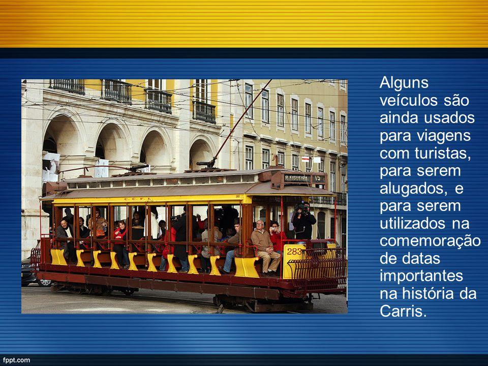 Alguns veículos são ainda usados para viagens com turistas, para serem alugados, e para serem utilizados na comemoração de datas importantes na histór