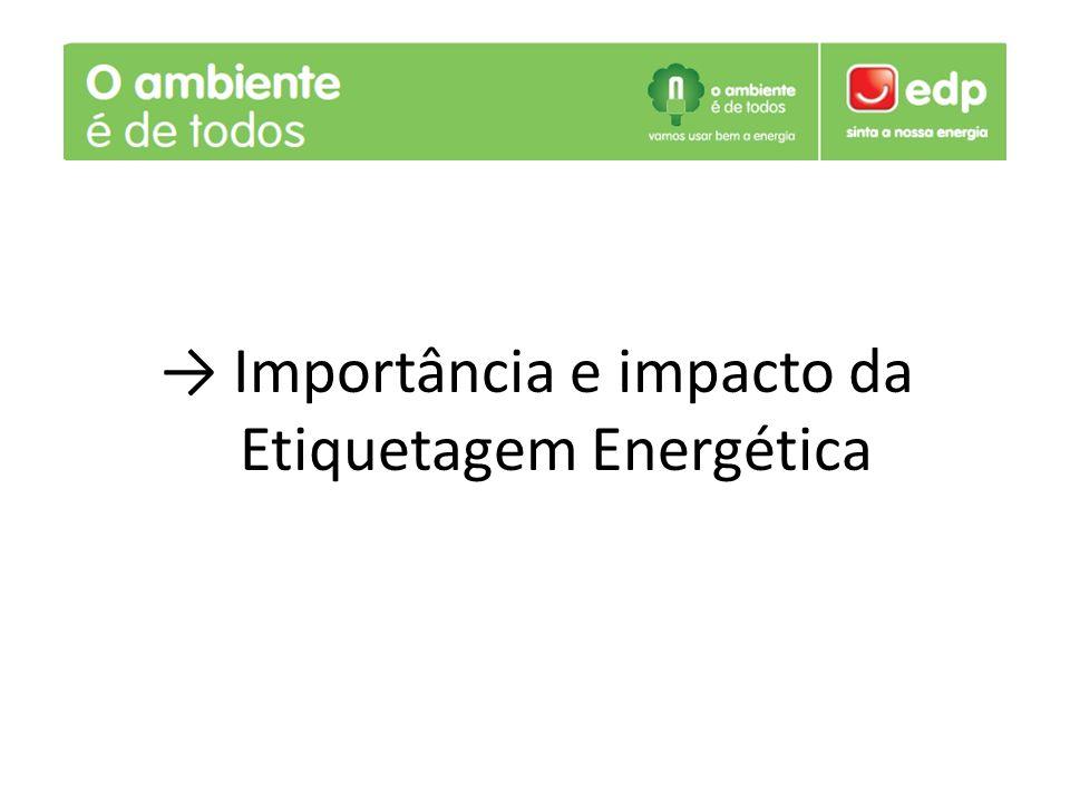 Importância e impacto da Etiquetagem Energética