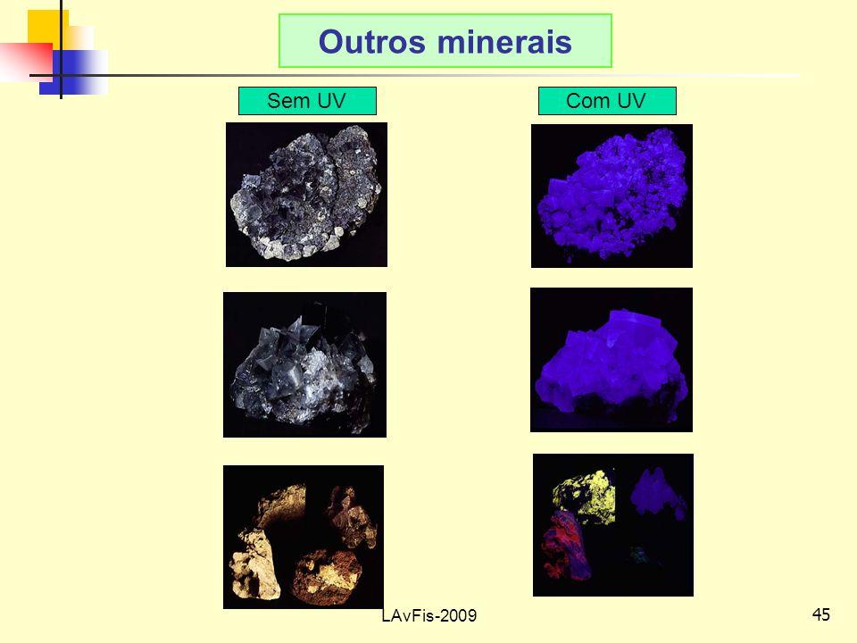 45 LAvFis-2009 Outros minerais Sem UVCom UV