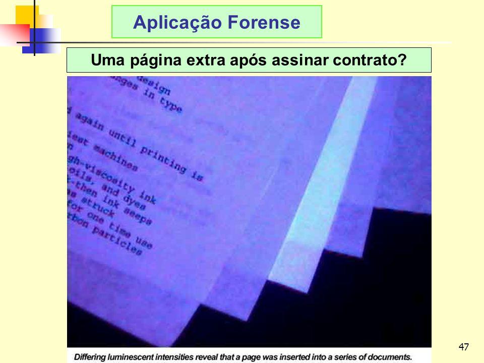 47 LAvFis-2009 Aplicação Forense Uma página extra após assinar contrato?