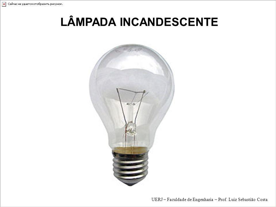 FONTES de LUZ Sol LÂMPADAS EL É TRICAS Lâmpadas incandescentes Lâmpadas de descarga Lâmpadas LED s UERJ – Faculdade de Engenharia – Prof.