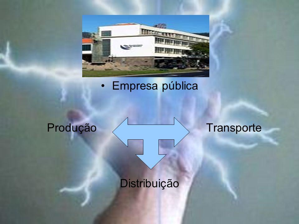Empresa pública Produção Transporte Distribuição