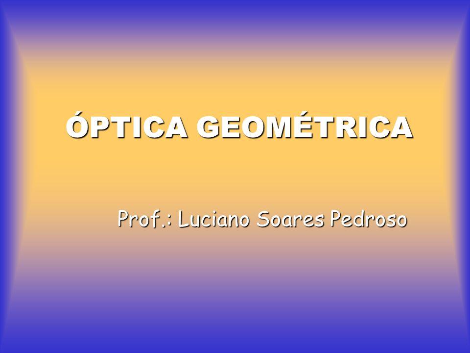 PRINCÍPIOS DA ÓPTICA GEOMÉTRICA Princípio da propagação retilínea da luz.