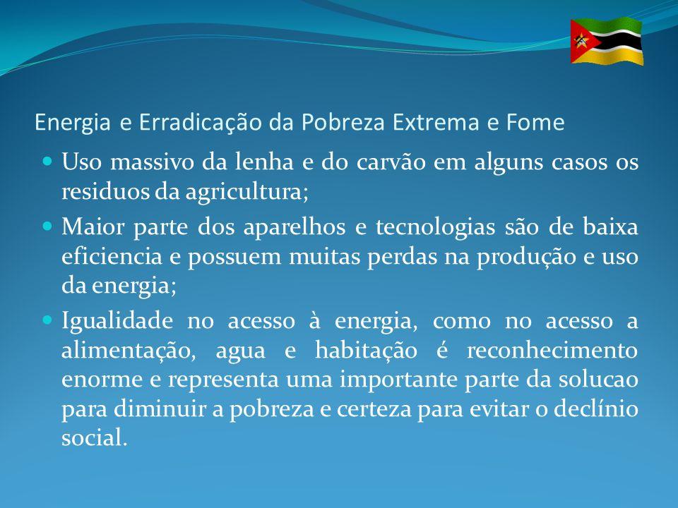 Energia e Erradicação da Pobreza Extrema e Fome A energia é uma questao central para todos os aspectos para o crescimento da economia…