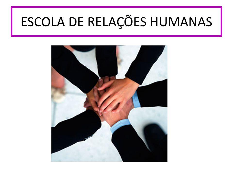 ESCOLA DE RELAÇÕES HUMANAS