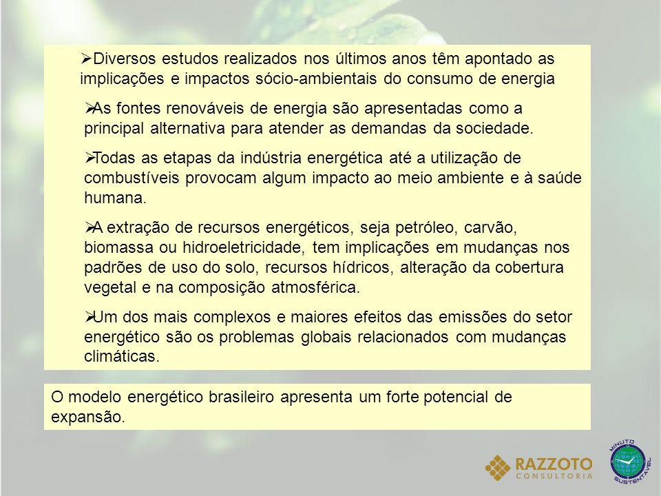 CENÁRIO PARANAENSE Quanto ao consumo setorial de energia: o setor industrial é o maior consumidor e responde por 32,5% do total do consumo no Estado, seguido pelo de transportes, que absorveu 25,1% da energia consumida.