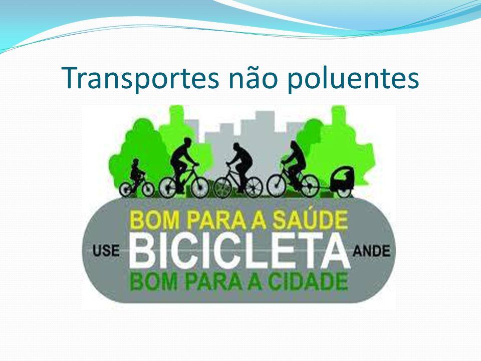Transportes não poluentes