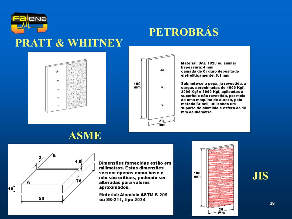 39 PRATT & WHITNEY PETROBRÁS ASME JIS