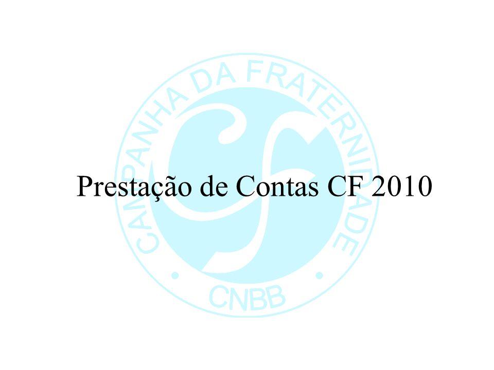 Prestação de Contas CF 2010