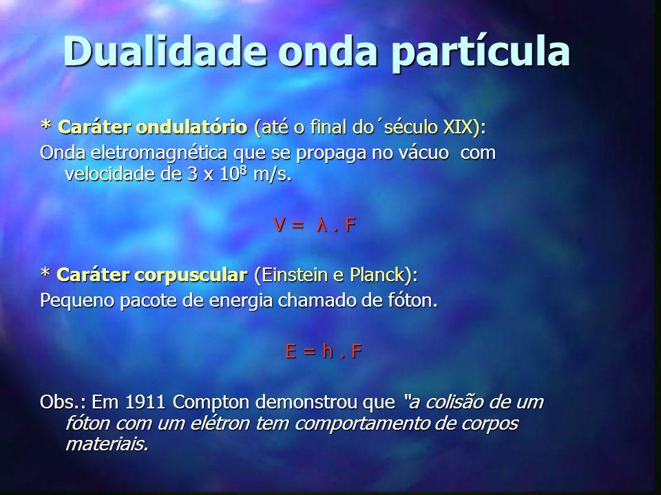 Fontes de Luz da radiação visível Dependem essencialmente do movimento de elétrons.