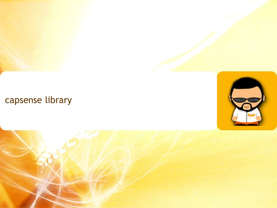 capsense library