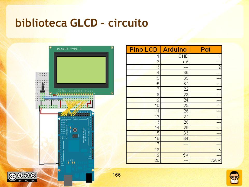 166 biblioteca GLCD - circuito