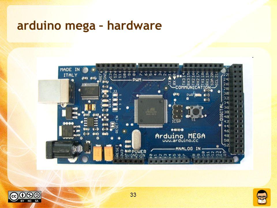 33 arduino mega – hardware