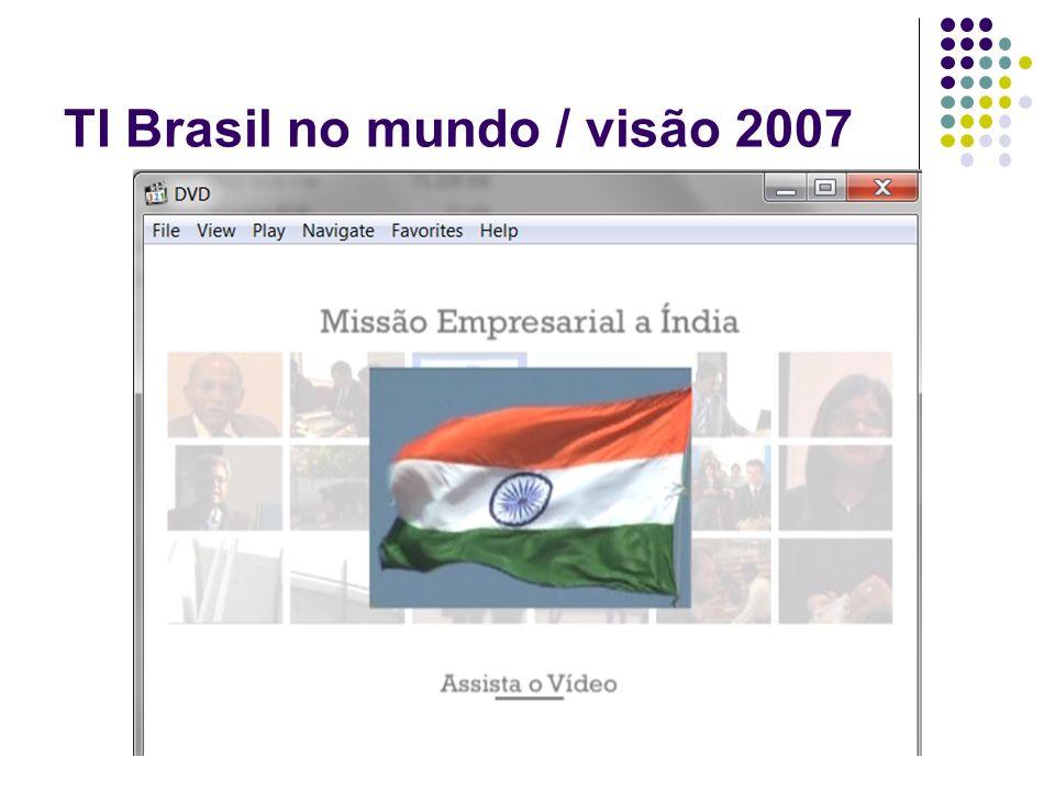 TI Brasil no mundo / visão 2007