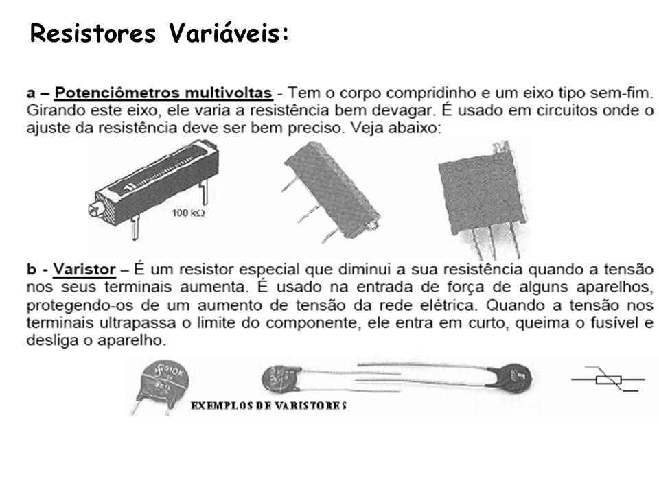 Resistores Variáveis: