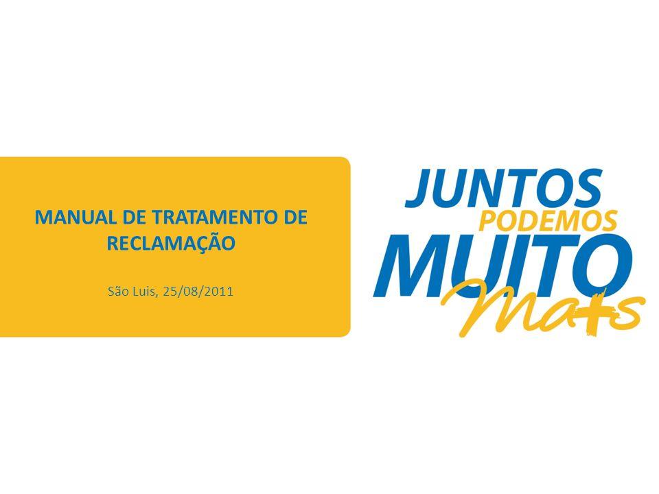 MANUAL DE TRATAMENTO DE RECLAMAÇÃO CERTIFICAÇÃO TIPOLOGIA X AVALIAÇÃO X PRAZO ABERTURA DE RECLAMAÇÃO E AS TIPOLOGIAS (RESOLUÇÃO 414) FLUXO DE ABERTURA E TRATAMENTO DA RECLAMAÇÃO MANUAL DE TRATAMENTO DE RECLAMAÇÃO