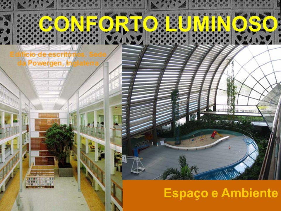 EMENTA: Estudo da luz em sua relação com o conforto visual do usuário, com a eficiência energética e com os elementos arquitetônicos e urbanos.