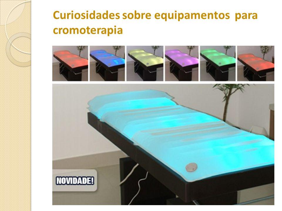 Curiosidades sobre equipamentos para cromoterapia