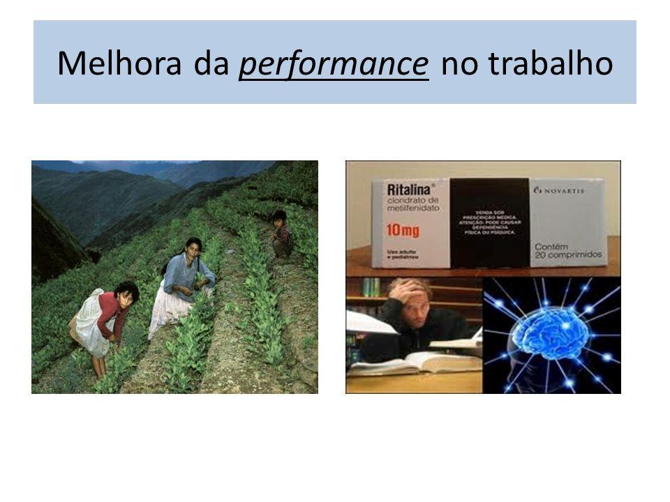 Melhora da performance no trabalho