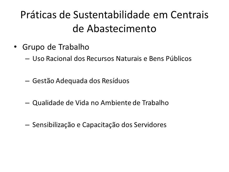 Práticas de Sustentabilidade em Centrais de Abastecimento PNA: princípios, instrumentos, metas que irão gerir a política e responsabilidade ambiental das centrais Brasil: política ambiental sólida, signatário de convenções internacionais Políticas Agroambientais na América Latina e Caribe