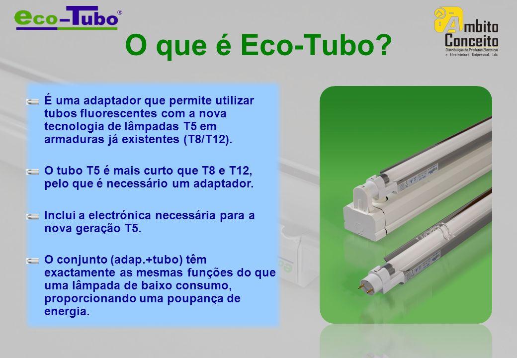 O que é Eco-Tubo.