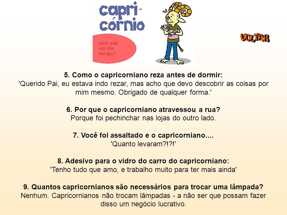 Capricórnio (22/12 - 19/1): 1. Frase: 'HOJE assumi o cargo de vice-diretor de uma empresa que ORGANIZAREI, e que será UM SUCESSO daqui a 10 ANOS'. 2.