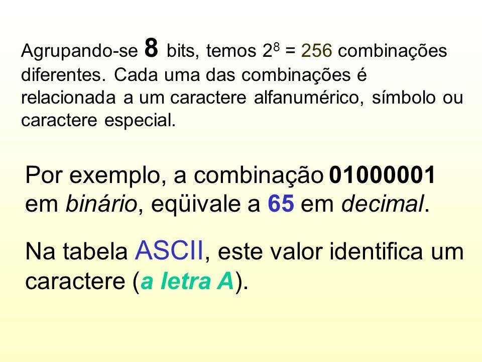 Bit BIT é o menor elemento de informação em um sistema digital binário. Um bit pode valer 0 ou 1 (desligado ou ligado)