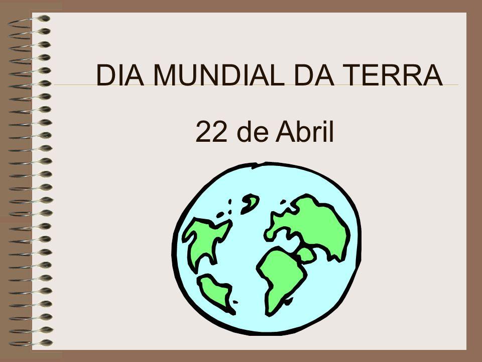 Terra, 22 de Abril de 2003 Bom Dia.