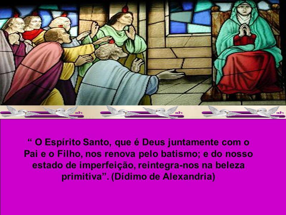 CARÍSSIMOS, O amor de Deus foi derramado em nossos corações pelo Espírito Santo que nos foi dado. (Rm 5,5) No próximo domingo será a festa de Pentecos